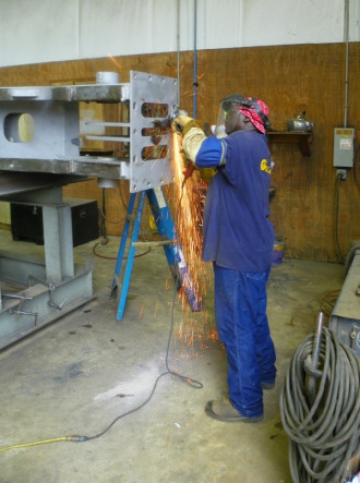 Welding and Fabrication for Offshore Marine Cranes