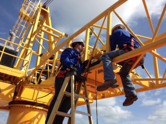 Pedestal Crane Maintenance And Inspection Gulf Crane